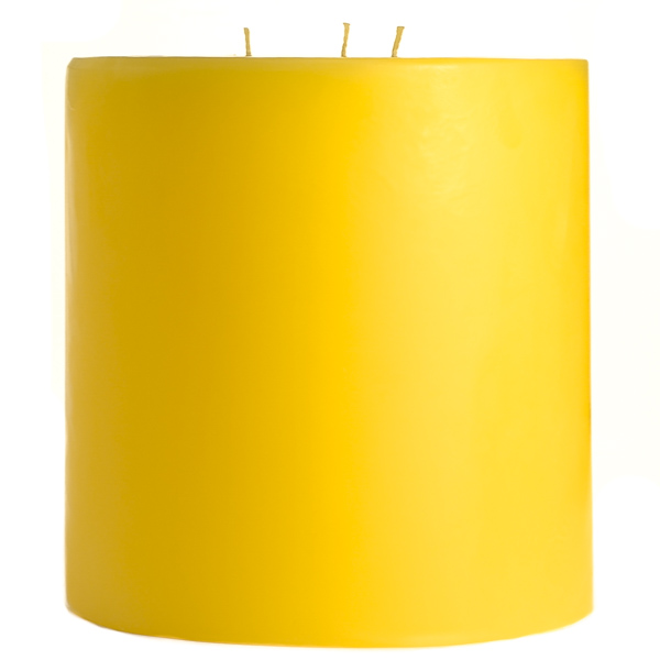 6 x 6 Tropical Pineapple Pillar Candles