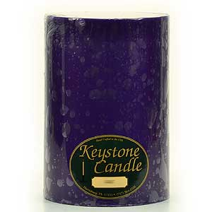 6 x 9 Lilac Pillar Candles