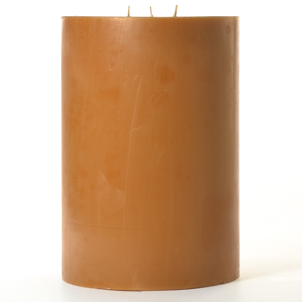6 x 9 Spiced Pumpkin Pillar Candles
