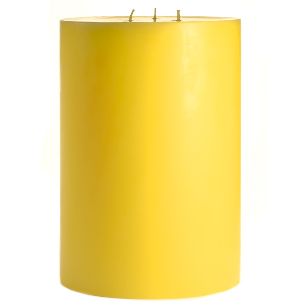 6 x 9 Tropical Pineapple Pillar Candles