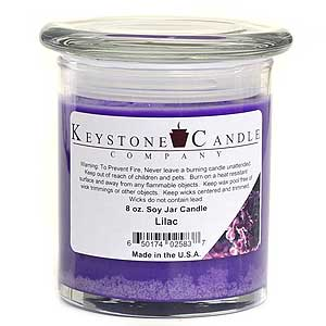 Lilac Soy Jar Candles 8 oz Madison