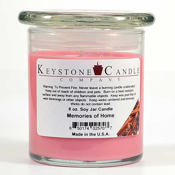 Memories of  Home Soy Jar Candles 8 oz