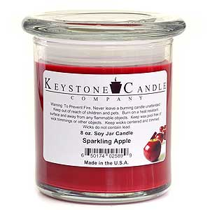 Sparkling Apple Soy Jar Candles 8 oz Madison