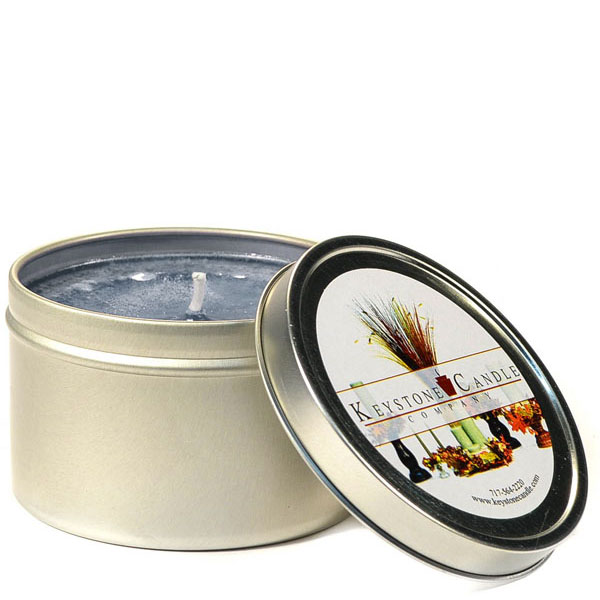 8 oz Clean Cotton Candle Tins