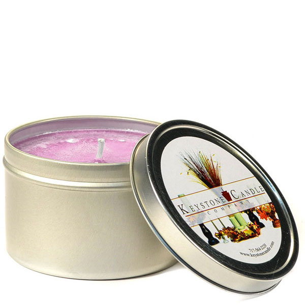 8 oz Black Raspberry Vanilla Candle Tins
