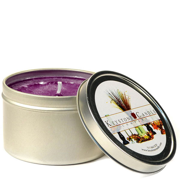 8 oz Merlot Candle Tins