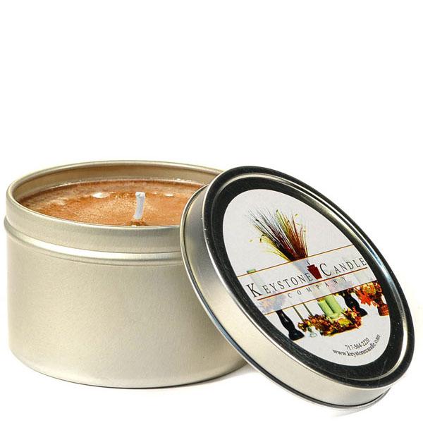 8 oz Baked Apple Crisp Candle Tins