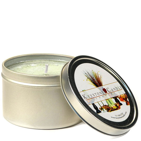 4 oz Warm Vanilla Sugar Candle Tins