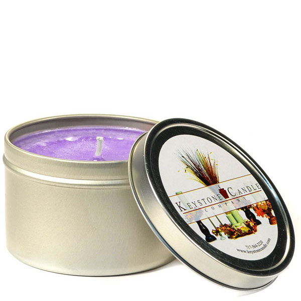 4 oz Lavender Candle Tins