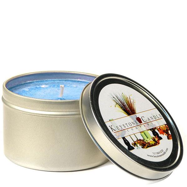 4 oz Ocean Breeze Candle Tins