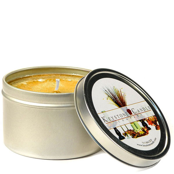 8 oz Homemade Pumpkin Roll Candle Tins