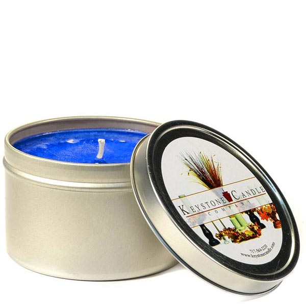 8 oz Blueberry Cobbler Candle Tins
