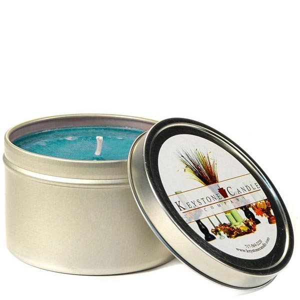 8 oz Fresh Rain Candle Tins