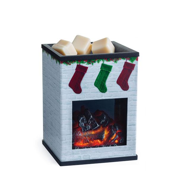 Holiday Fireplace Illumination Tart Burner