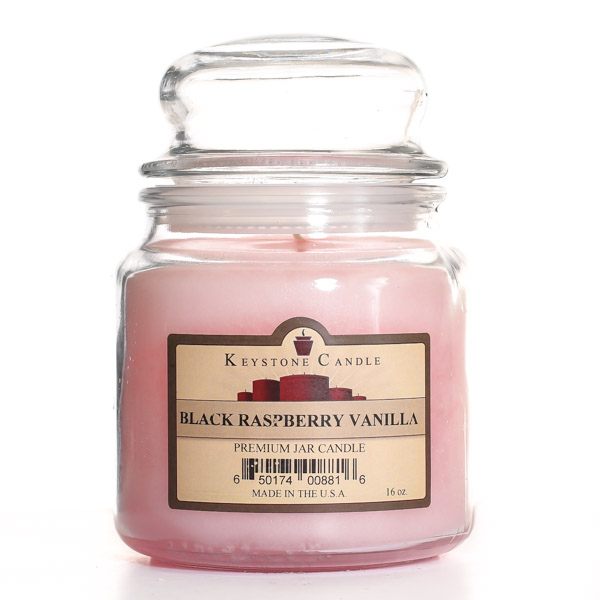 Black Raspberry Vanilla Jar Candles 16 oz