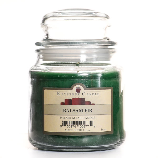 Balsam Fir Jar Candles 16 oz