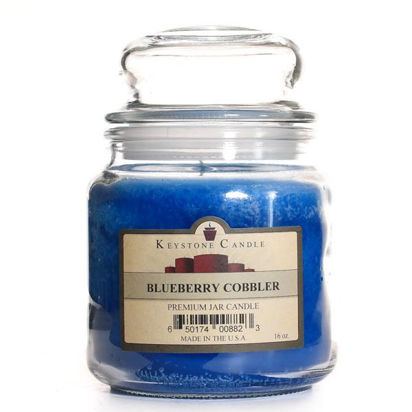 Blueberry Cobbler Jar Candles 16 oz