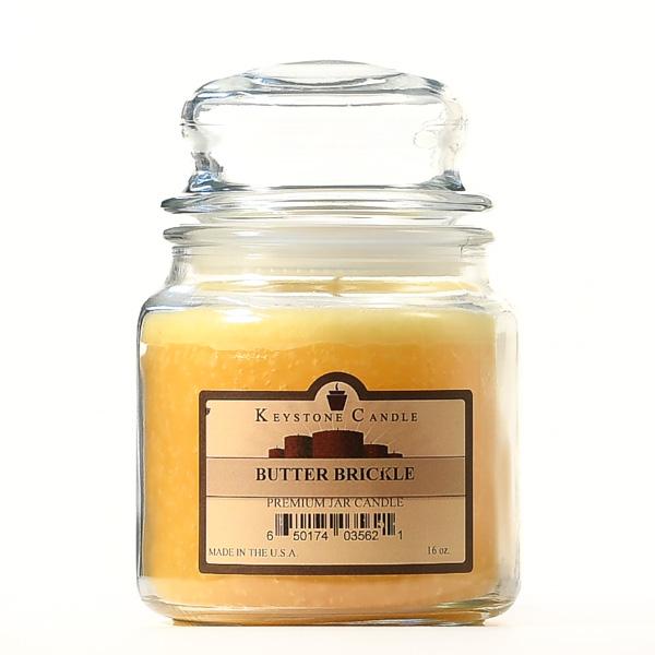 Butter Brickle Jar Candles 16 oz
