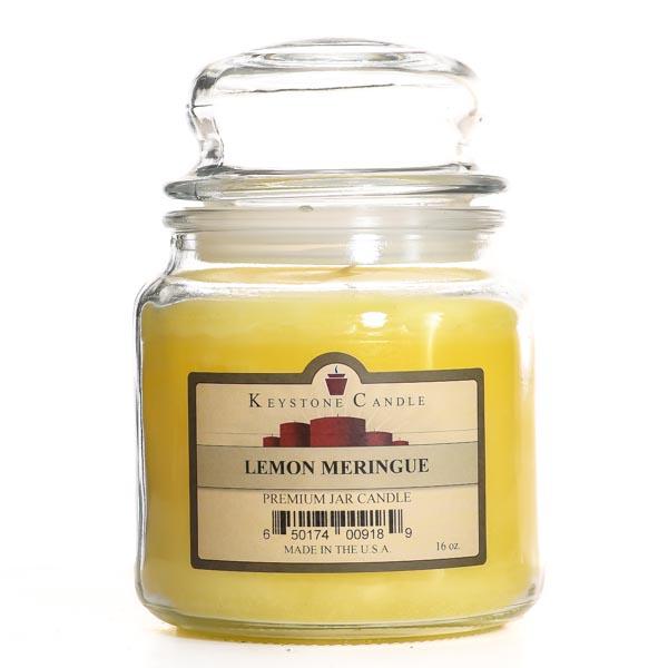Lemon Meringue Jar Candles 16 oz