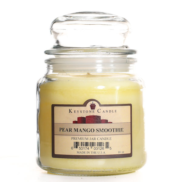 Pear Mango Smoothie Jar Candles 16 oz