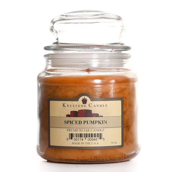 Spiced Pumpkin Jar Candles 16 oz