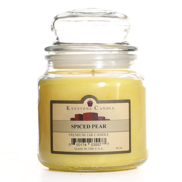 Spiced Pear Jar Candles 16 oz