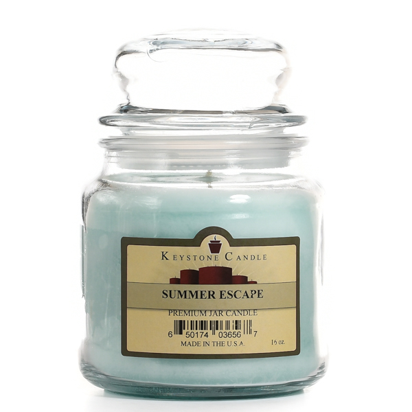 Summer Escape Jar Candles 16 oz Limited