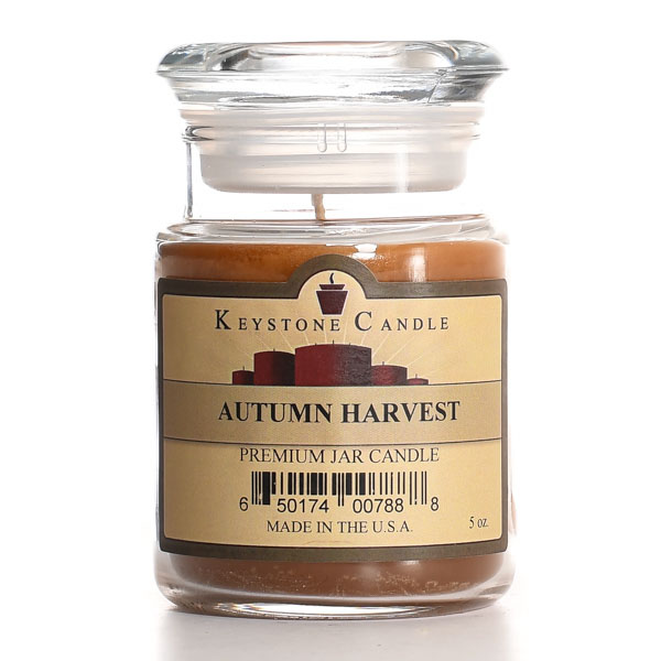 Autumn Harvest Jar Candles 5 oz