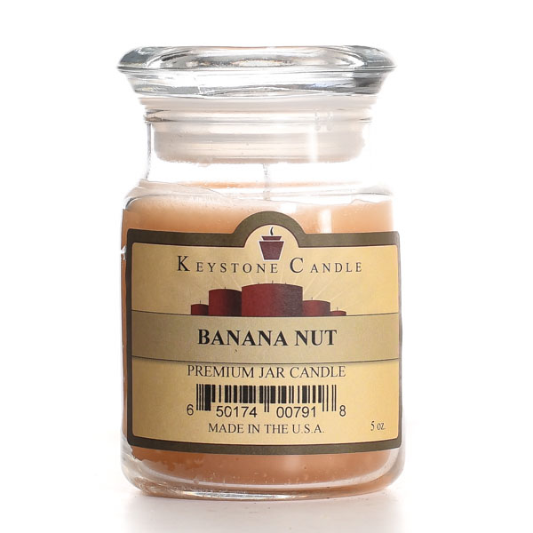 Banana Nut Jar Candles 5 oz