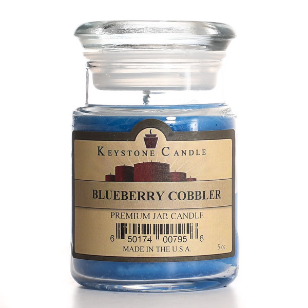 Blueberry Cobbler Jar Candles 5 oz