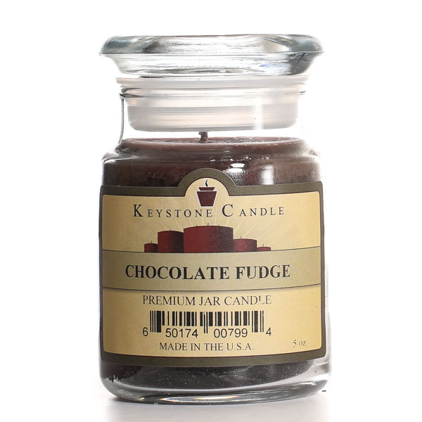 Chocolate Fudge Jar Candles 5 oz