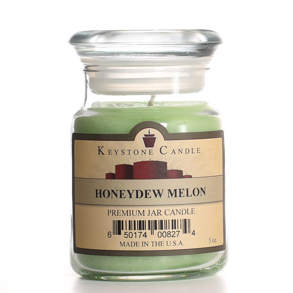 Honeydew Melon Jar Candles 5 oz