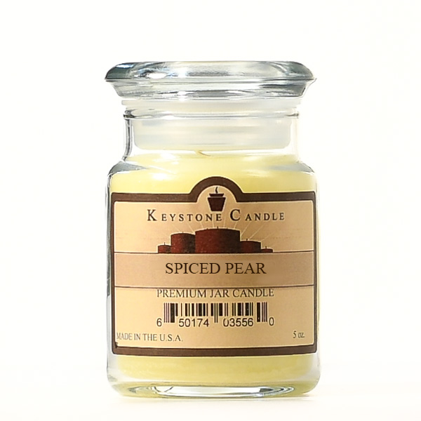 Spiced Pear Jar Candles 5 oz