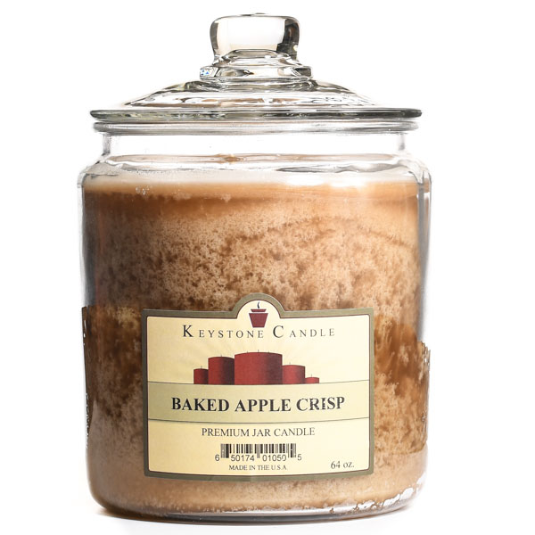 Baked Apple Crisp Jar Candles 64 oz