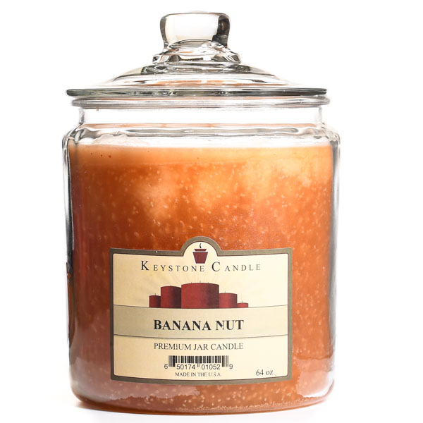 Banana Nut Jar Candles 64 oz