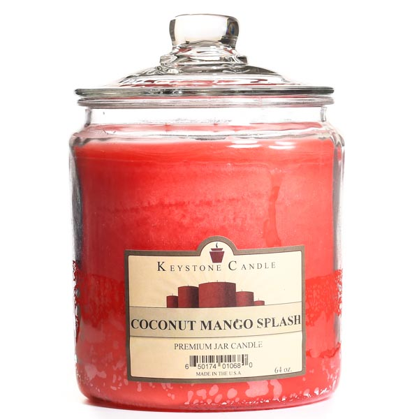 Coconut Mango Splash Jar Candles 64 oz