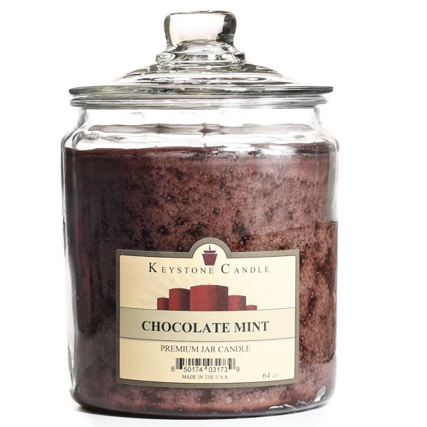 Chocolate Mint Jar Candles 64 oz
