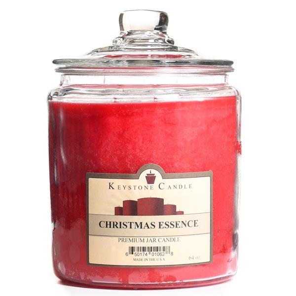 Christmas Essence Jar Candles 64 oz
