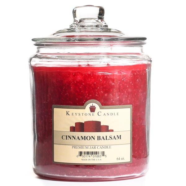 Cinnamon Balsam Jar Candles 64 oz