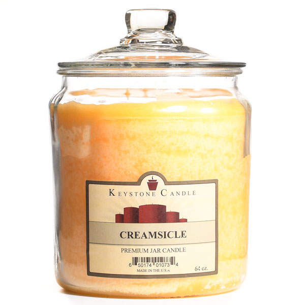 Creamsicle Jar Candles 64 oz