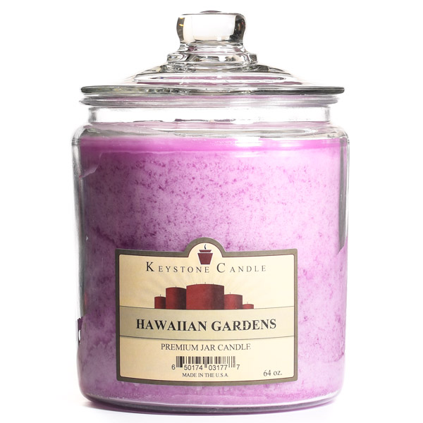 Hawaiian Gardens Jar Candles 64 oz
