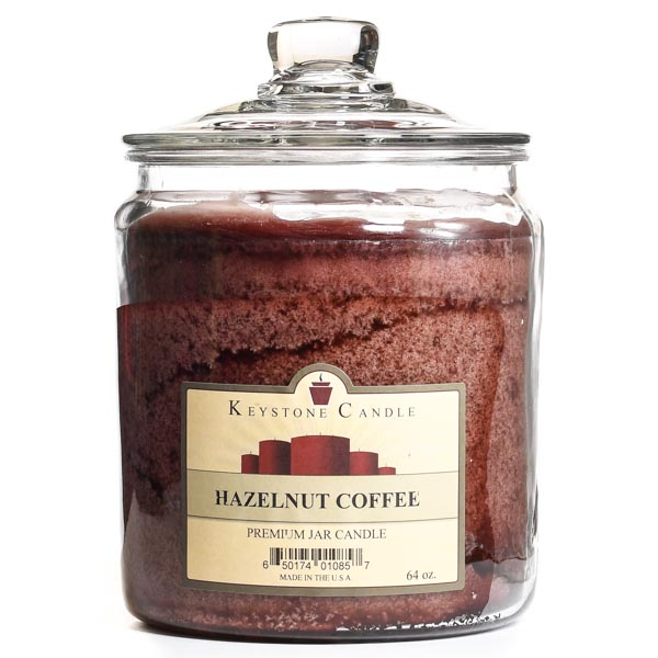 Hazelnut Coffee Jar Candles 64 oz