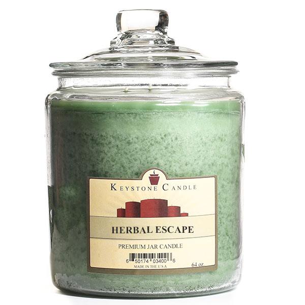 Herbal Escape Jar Candles 64 oz