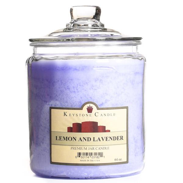 Lemon and Lavender Jar Candles 64 oz
