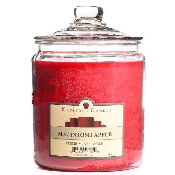 Macintosh Apple Jar Candles 64 oz