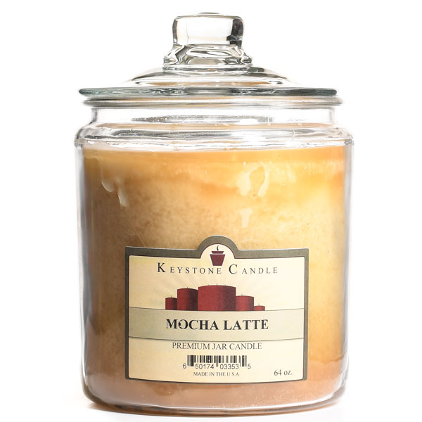 Mocha Latte Jar Candles 64 oz