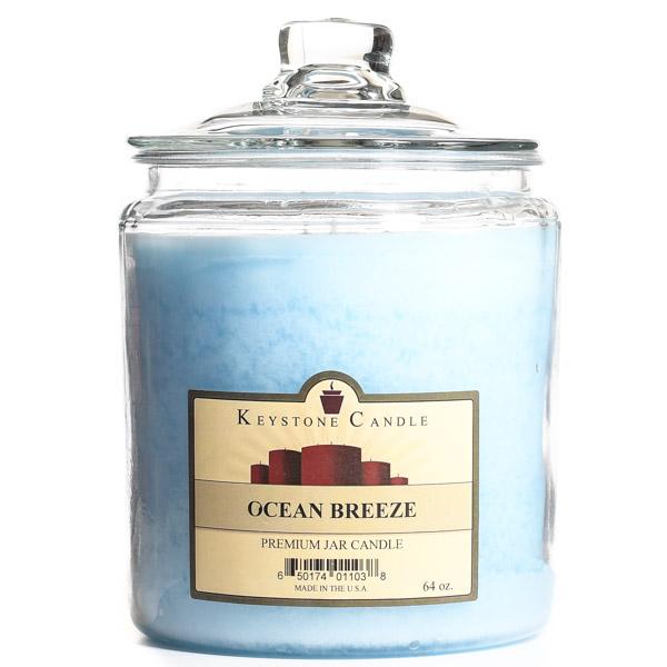Ocean Breeze Jar Candles 64 oz