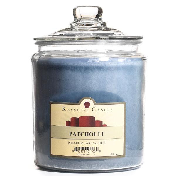 Patchouli Jar Candles 64 oz