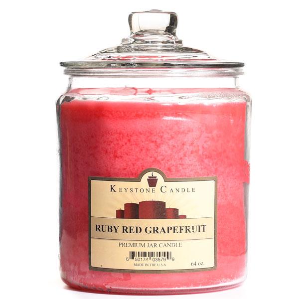 Ruby Red Grapefruit Jar Candles 64 oz