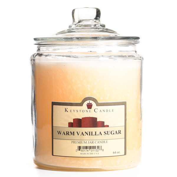 Warm Vanilla Sugar Jar Candles 64 oz